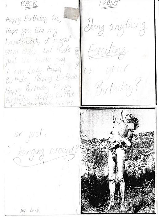 Bday card 1992