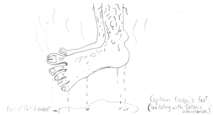 Captain Dodgy's Stinking Feet 001