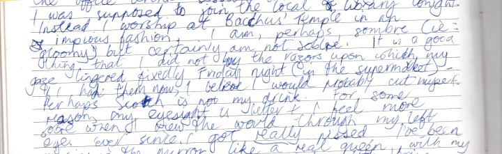 diary 1995 March 2