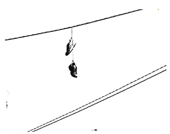 shoes on a wire 001