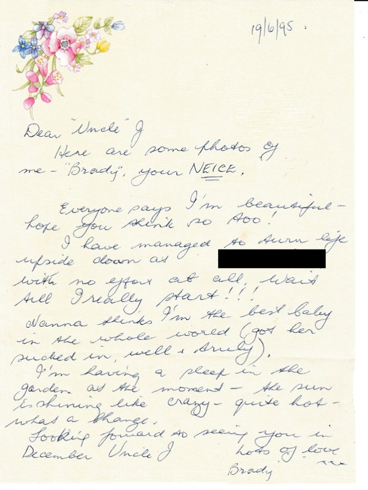 Mum Letter 19 june 1995 001