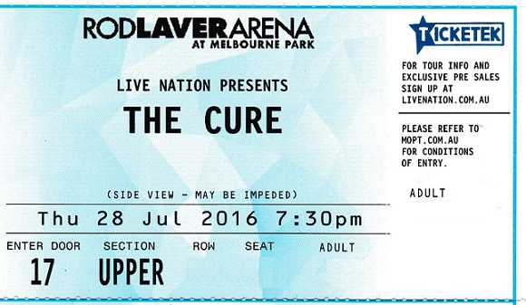 Cure Tickets 001