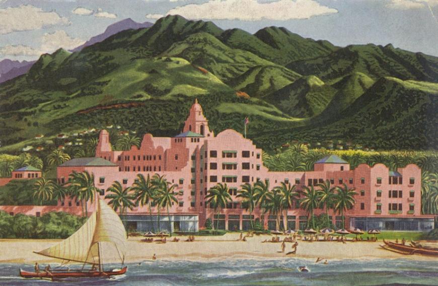 royalhawaiianhotelpostcard